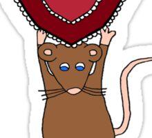 Valentine's Day Heart for Daddy Sticker