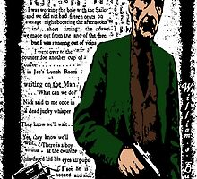 William S Burroughs Dead On Arrival by brett66