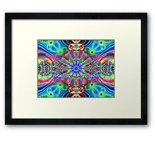 Cosmic Creatrip - Psychedelic trippy visuals Framed Print