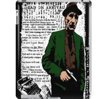 William S Burroughs Dead On Arrival iPad Case/Skin