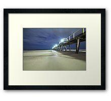 Henley Jetty low tide Framed Print