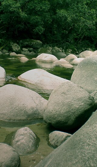 River Rocks by DiverDeb