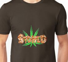 Stoned Pot leaf  Unisex T-Shirt