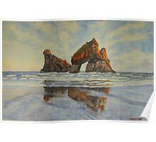 Archway Islands NZ Poster