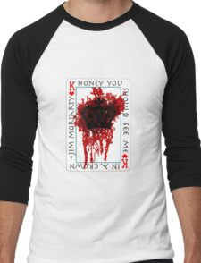 Honey, you should see me in a crown Men's Baseball ¾ T-Shirt