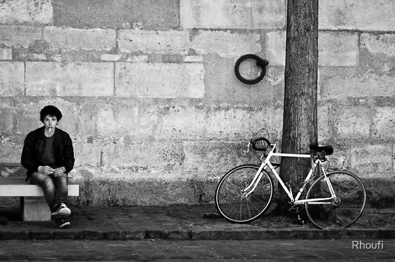 A man needs a cigarette like a boy needs a bike... by Rhoufi