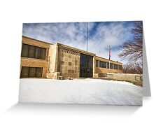 Clark County, Kansas Courthouse Greeting Card