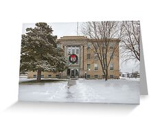 Commanche County, Kansas, Courthouse Greeting Card