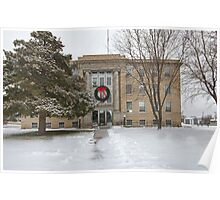 Commanche County, Kansas, Courthouse Poster