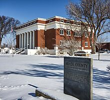 Meade County, Kansas, Courthouse by oakleydo