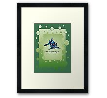 What Are you Staring At? Framed Print