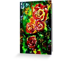 Festival of Roses Greeting Card