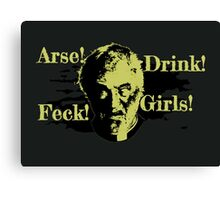 Father Ted - Jack Canvas Print