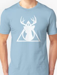Deathly Hallows - White T-Shirt
