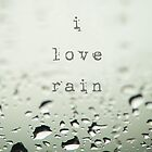 i love rain... by geisha