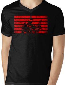 Snake Eyes Symbol Mens V-Neck T-Shirt