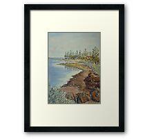 Seaholme shores Framed Print