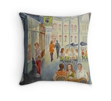 The Groove Lounge, Williamstown Throw Pillow