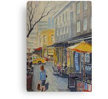 Hardware Lane, Melbourne Canvas Print