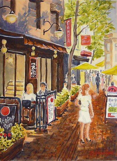 McKillop Lane, Melbourne by Virginia  Coghill
