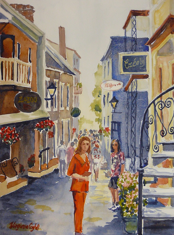 Old Quebec by Virginia  Coghill