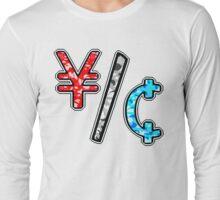 YEN & CENTS Long Sleeve T-Shirt