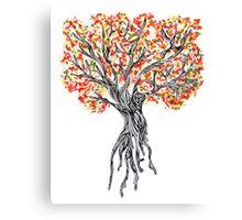 Sprinke Tree Canvas Print