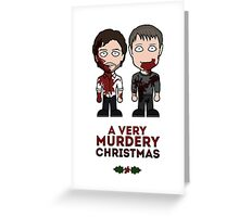 Hannibal Christmas card Greeting Card