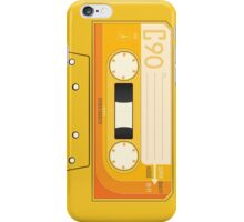 Yellow Cassette iPhone Case/Skin