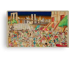 Brooklyn in the 90s Canvas Print