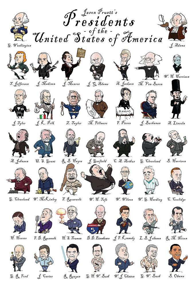 Presidents of the United States of America by jasonpruett