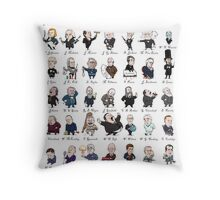 Presidents of the United States of America Throw Pillow