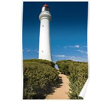 Split Point Lighthouse - Aireys Inlet Poster