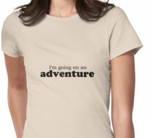 The Hobbit best quotes #1 Womens Fitted T-Shirt