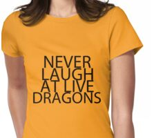 The Hobbit best quotes #2 Womens Fitted T-Shirt