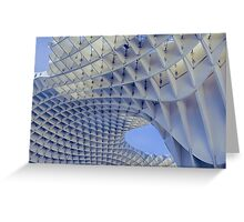 Metropol Parasol Duvet Cover Greeting Card