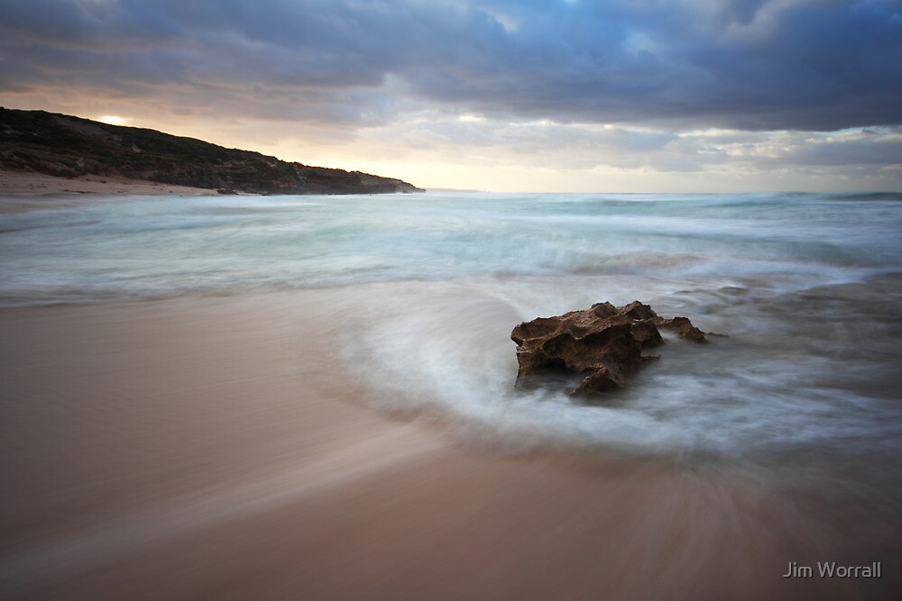 Montforts beach by Jim Worrall