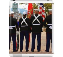 4 Marines iPad Case/Skin