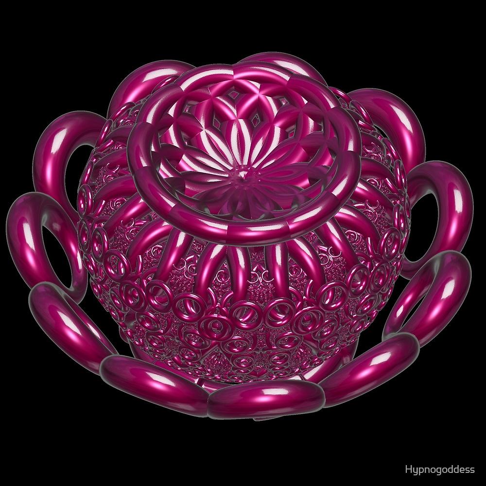 Incendia -- Ruby Gemstone Urn by Hypnogoddess
