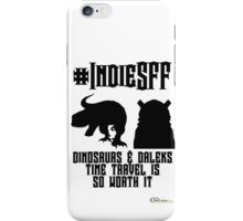 IndieSFF Dinosaurs and Daleks iPhone Case/Skin