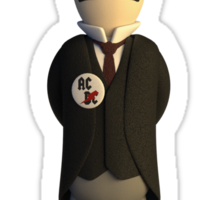 Nikola Tesla - Power Ranger Sticker