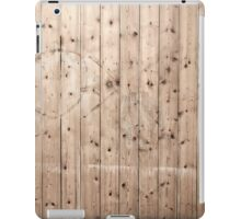 Vintage stained wooden background iPad Cases iPad Case/Skin