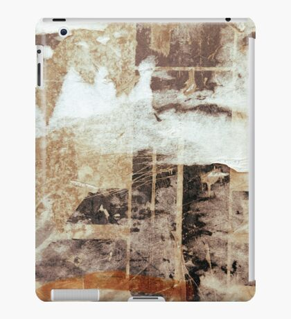 Old posters grunge textures iPad Cases iPad Case/Skin