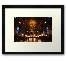 Painted Hall, Old Royal Naval College, Greenwich Framed Print
