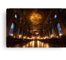 Painted Hall, Old Royal Naval College, Greenwich Canvas Print