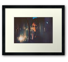 """""""Little flashes of sun on the surface of a cold, dark sea.""""~Jean-Paul Sartre Framed Print"""