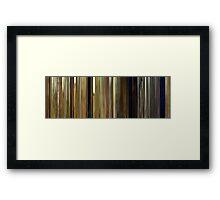 Moviebarcode: Moonrise Kingdom (2012) Framed Print