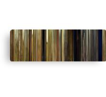Moviebarcode: Moonrise Kingdom (2012) Canvas Print