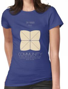 Communi-tee Womens Fitted T-Shirt
