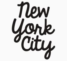 New York City Marker in Black by Limited Apparel